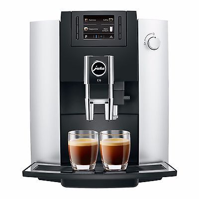 Jura E6 Bean-to-Cup Coffee Machine - Brand New With 2 Years Warranty