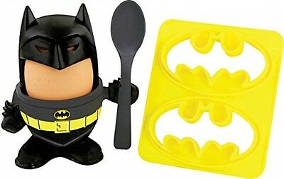 Official Batman Egg Topper, Egg Cup And Toast Cutter - CHRISTMAS BIRTHDAY GIFT