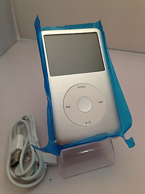 Apple iPod Classic 7th Generation Silver White (256 GB) w/ SSD Solid State Drive