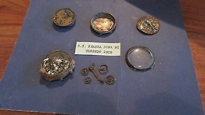 Watch Relics From SS Kyarra  British Ship Sunk 1918