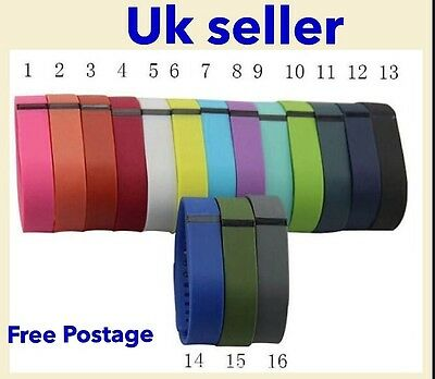 Fitbit Flex Wristband Bracelet Strap Replacement Band Fitness Tracker *UK*