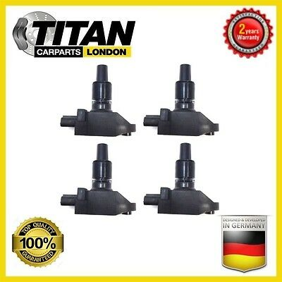 For Mazda Rx8 Rx 8 2.6 N3H1-18-100 Pack Of 4 Ignition Coil Pencil Pack Fits