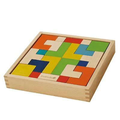 EverEarth Enigma Puzzle Traditionelle Holz Spiel 3+