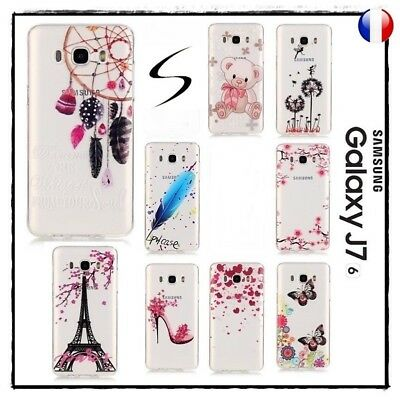 Etui Housse Coque Transparente Silicone TPU Case Cover Samsung Galaxy J7 2016