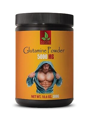 muscle recovery - GLUTAMINE POWDER 5000mg - amino acid powder - 1 Can