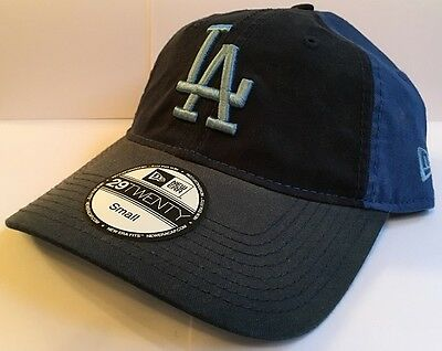 LA Dodgers New Era 29Twenty Washout Fitted Baseball Cap Size Small