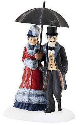 Dept 56 Dickens Village Accessory Under The Bumbershoot 58460 NIB**FREE SHIPPING
