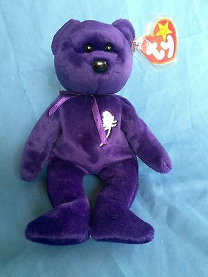 (1997) Princess Diana TY Beanie Baby(Rare Mint Condition)