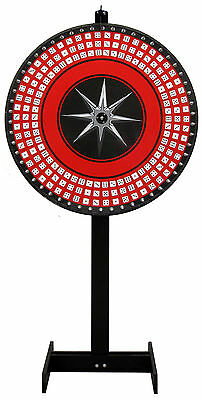 36 DICE WHEEL, GAME WHEEL, PRIZE WHEEL. TALL FLOOR STAND! Buy It Now!
