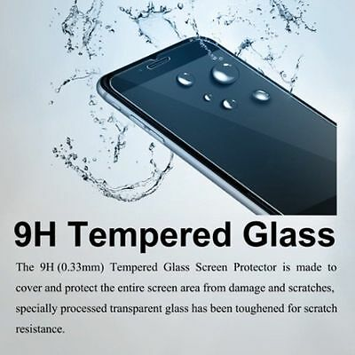 100% Genuine Tempered Glass Film Screen Protector for Apple iPhone 8 7 6 Plus