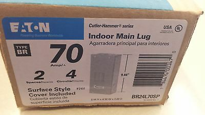 BR24L70SP Cutler Hammer 70Amp Indoor Main Lug Load Center NSFP