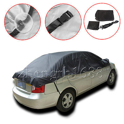 1pc Half Car Auto Window Snow Rain Sun UV Cover Protector Sunshade Waterproof
