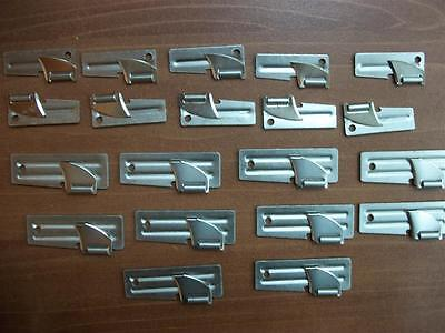 20 Original Shelby Co. 10 P-38 & 10 P-51 Can Openers - US Military Survival Gear