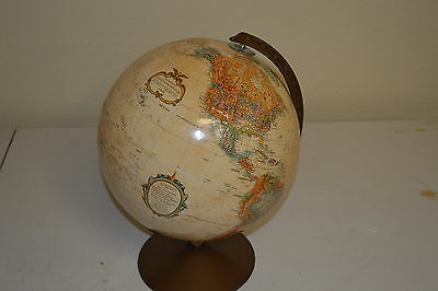 Replogle 12'' World Globe Vintage World Classic Series Raised Topography