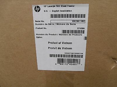 NEW HP  CF406A 500-sheet Feeder For Laserjet Accs Pro 400 M425 Mfp