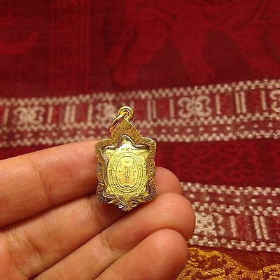 Cute Magic Mini Turtle LP Liew Thai Buddha Amulet Luck Rich Charm Wealth Protect