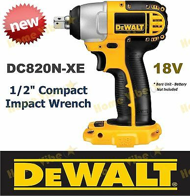 Dewalt Dc823 18v 3 8 Quot Impact Wrench Xrp Nano For Push Up