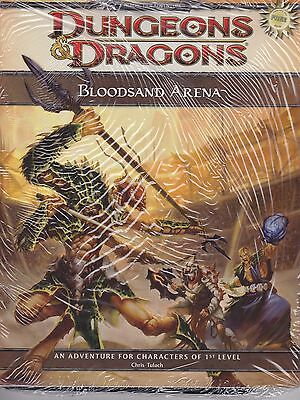 D and D 4th Edition Bloodsand Arena ( Dark Sun ) Free RPG Day 2010 Module Sealed