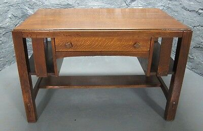 Antique Signed LIMBERT ARTS U0026 CRAFTS Library Table/Desk #132 C. 1920s  Mission