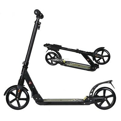 Town Urban Park Ride Adult Kids Push Kick Scooter Triple Stacked Lightweight