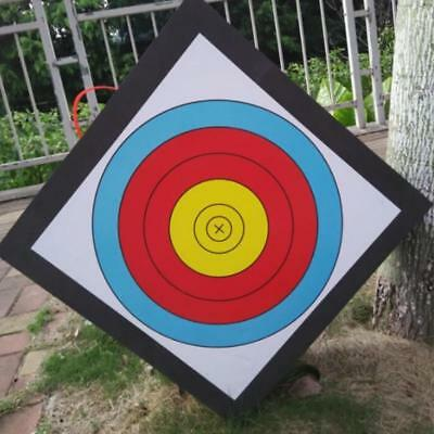 20x 40x40cm IRQ Archery Targets Faces Paper Hunting Shooting Target 10 Full Ring
