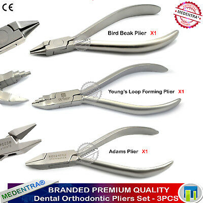 Ortho Pliers for Wire Bending Universal Plier Orthodontics Spring Forming Adams
