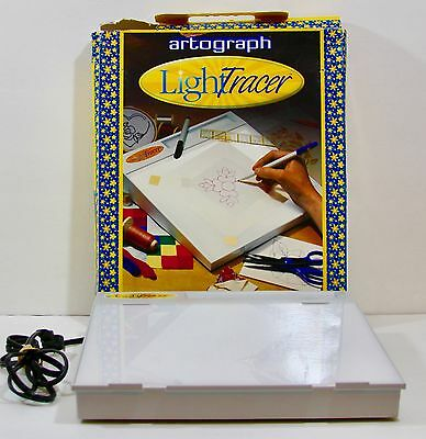 Artograph LightTracer Light Box Drawing Sketching Art Embossing Stenciling Craft