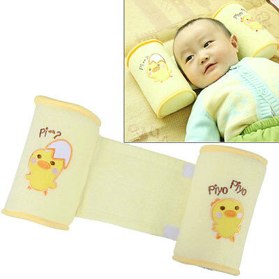 Safety Newborn Baby Sleep Positioner Prevent Flat Head Shape Anti Roll Pillow