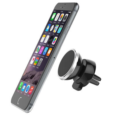 Support Voiture Magnétique Aimant Universel pour iPhone Samsung Sony LG GPS
