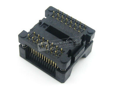 Enplas OTS-28-1.27-04 IC Test & Burn-in Socket for SOP28 SO28 SOIC28 package