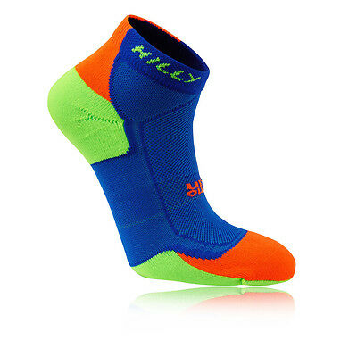 Hilly Lite Cushion 1/4 Hombre Azul Running Atlético Tobillo Deporte Calcetines