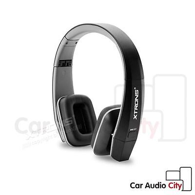 UK IR Infrared Wireless Car Stereo Headphone Headset Earphone Dual Channel Black