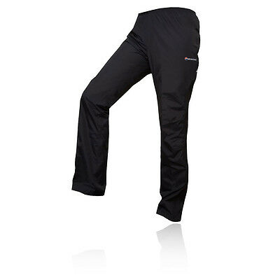 Montane Atomic Mujer Negro Impermeable Exterior Trekking Pantalones Casual