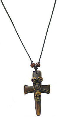 Captain Hook-World Book Day-LARP-SCA-Buccaneer- PIRATE NECKLACE 5 to choose from