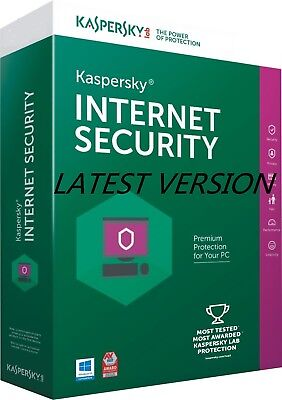 Kaspersky INTERNET Security 2017-2018 3 Device 2 Year Send Key ESD