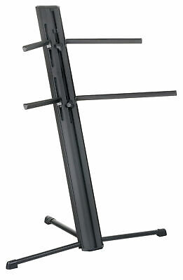 Keyboard Digital Piano Support Double Stand Base Two Keyboards Robust & Durable
