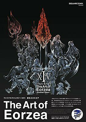 Genuine Final Fantasy XIV Art Book A Realm Reborn Another Dawn The Art of Eorzea