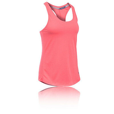 Under Armour Streaker Femmes Rose Running Gym Débardeur Sport Top Haut singlet
