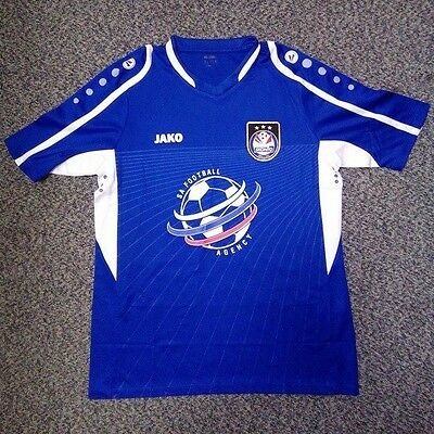 BNWT - Official (exclusive) FC SKONTO RIGA Away Shirt -M,L,XL,XXL Sizes - Blue