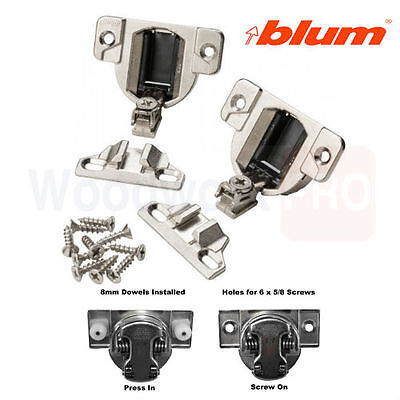 BLUM COMPACT 33 Series replaceable Hinges 110 degree 33 3600 / 33 3630
