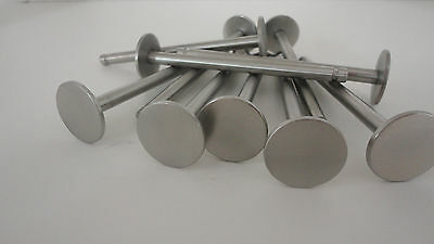 (25) 1/4 X 3-1/2 Clevis Pin Polished Stainless Steel ~ Slot or Groove ~ Fatheads