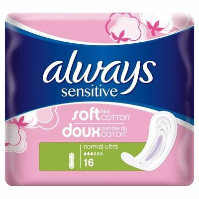 Always Soft & Fit Normal Sanitary Towels 16 per pack