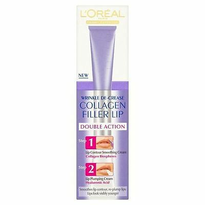L'Oreal Wrinkle Decrease Collagen Filler Lip 2 x 5ml