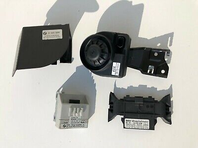 BMW E46 323 325 330 M3 Complete Set Alarm Siren System Inclination Ultra Sonic