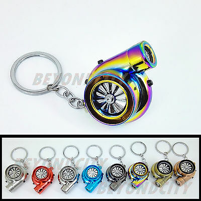Rechargeable Turbo Lighter keyring keychain has LED light and BOV sound