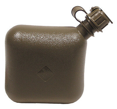Genuine US Army Issue Collapsible 2 Qt (2 Litre) Water Bottle un-used & unissued