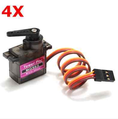 4 X MG90S Metal Gear RC Micro Servo