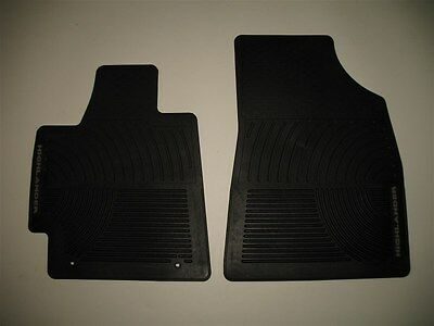 2008 2009 2010 2011 2012 2013 Toyota Highlander Rubber All Weather Floor Mats