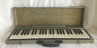 Vintage Keyboard or Melodica, Case Made in Italy.