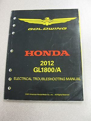 Honda GL1800 Electrical Troubleshooting Manual  FREE SHIPPING Inventory Backroom